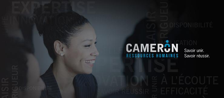 À propos de Cameron ressources humaines