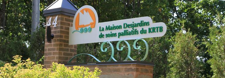 Missions de la Maison Desjardins de soins palliatifs du KRTB