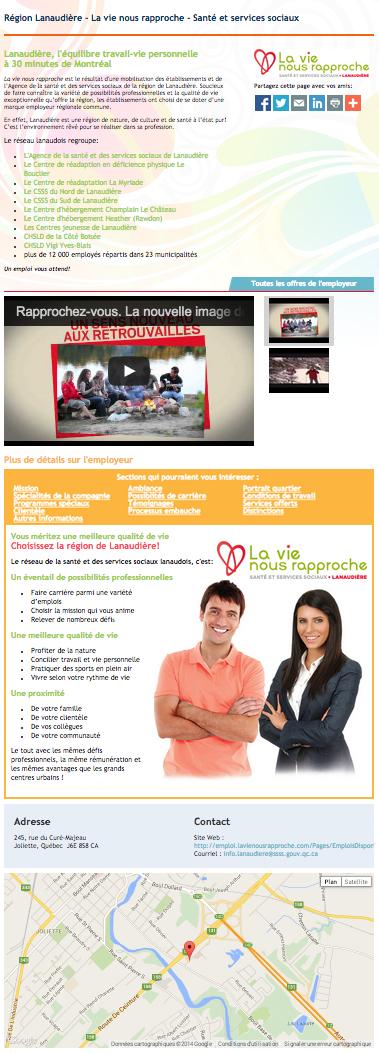 Portail employeur Emplois Paramédicaux Spécialiste de l'emploi paramédical en France - La vie nous rapproche